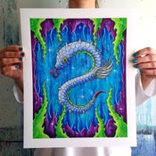 Image of Sea Serpent Giclee Print