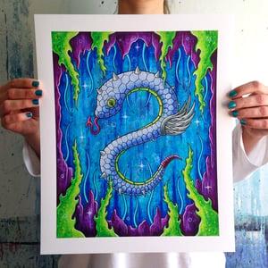 Image of Sea Serpent Giclee Print