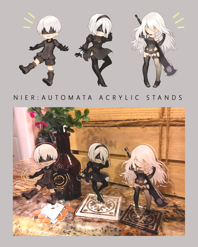Image of NieR: Automata Character Acrylic Stands