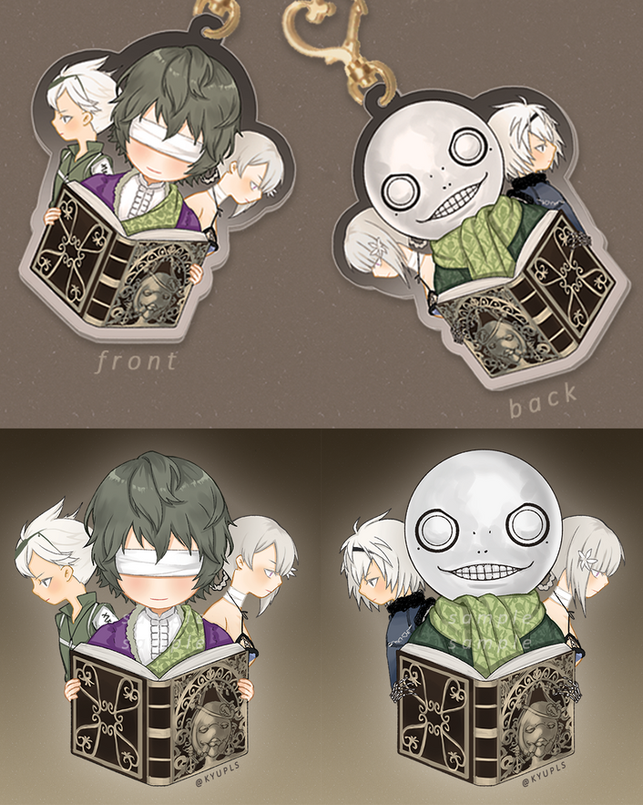 Image of NieR Replicant Charm -PREORDER-
