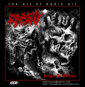 Image of BARBARITY-KEEPER OF OBLIVION CD