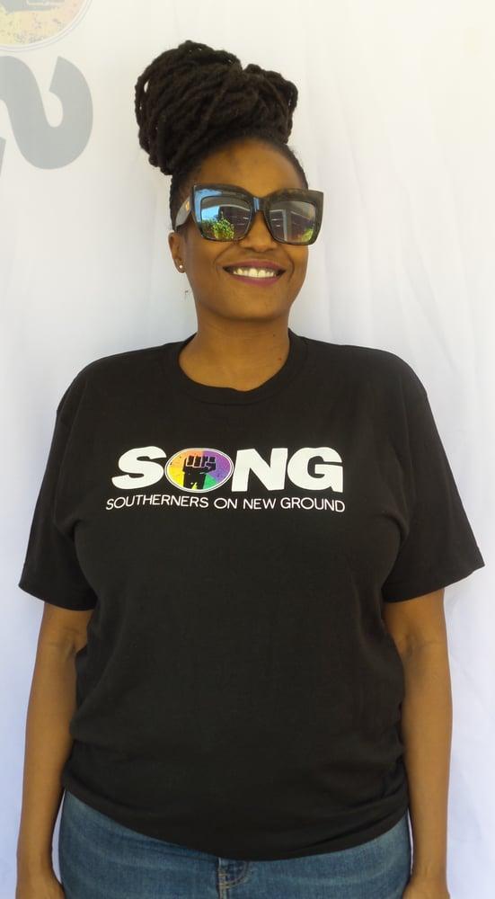 Image of SONG Logo Tshirt Black