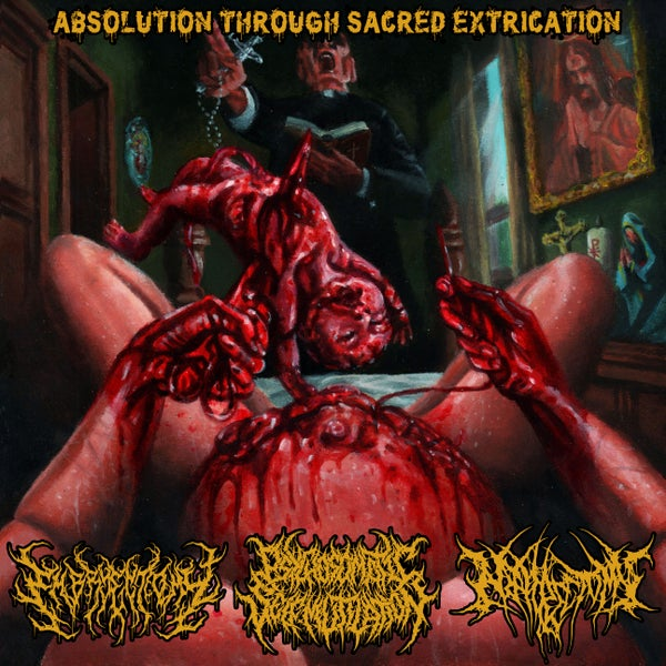 "Image of ""Absolution Through Sacred Extrication"" split CD"