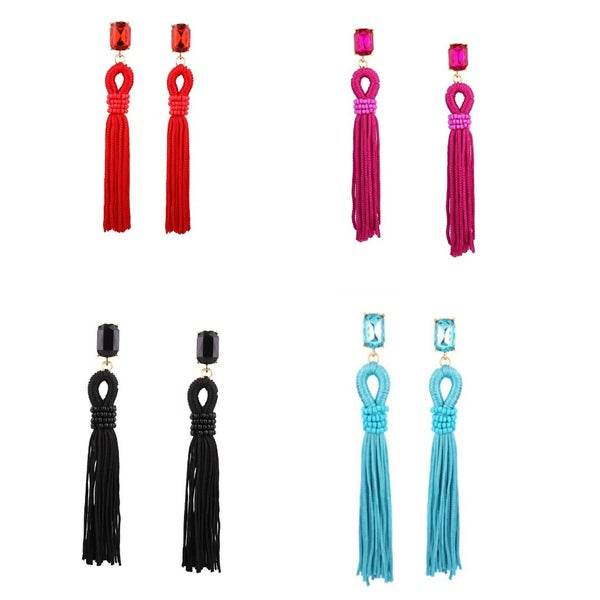 Image of Rope Tassel Earring