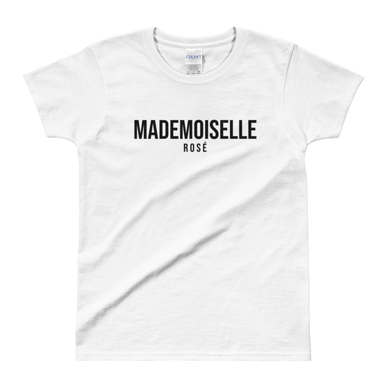 Image of Mademoiselle Rosé T-Shirt