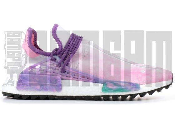 "Image of Adidas PW HUMAN RACE NMD TR ""PINK GLOW"""
