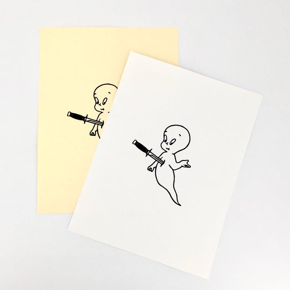 Image of Casper print