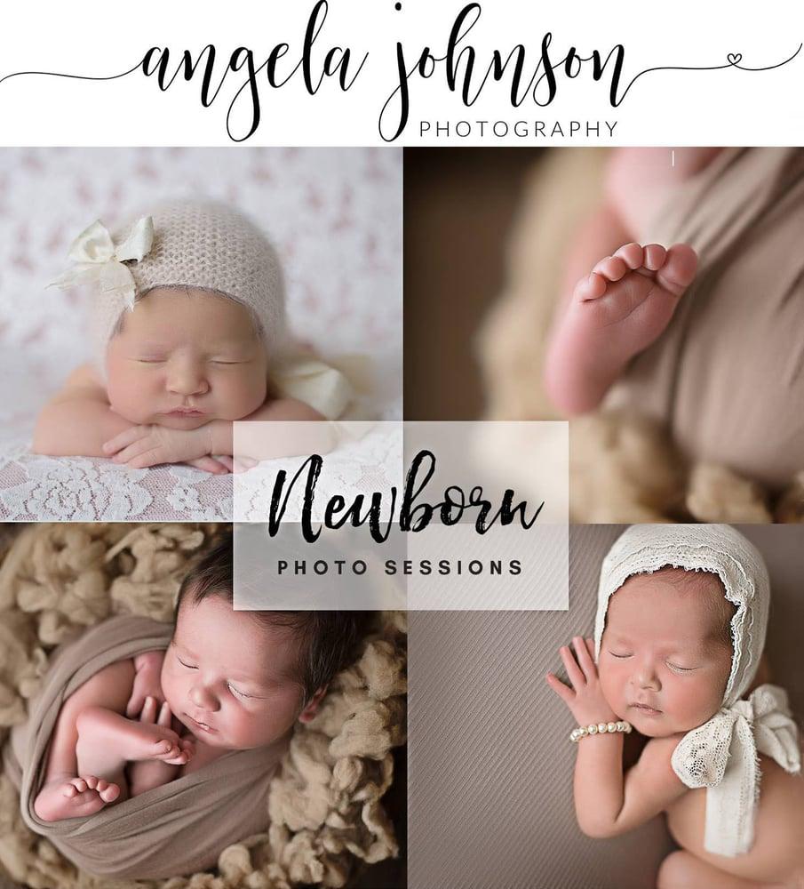 Image of Newborn Session- ALL INCLUSIVE
