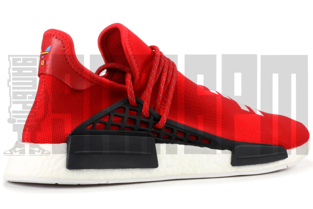 "Image of Adidas PW HUMAN RACE NMD ""SCARLET"""