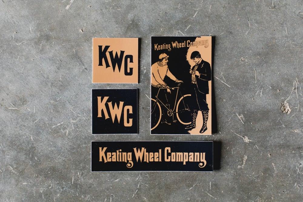 Image of KWC 4-Piece Sticker Pack