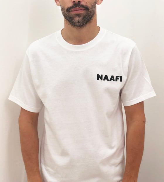 Image of NAAFI White Sport Logo