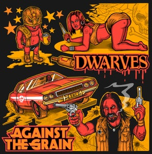 Image of Dwarves / Against The Grain split 7""