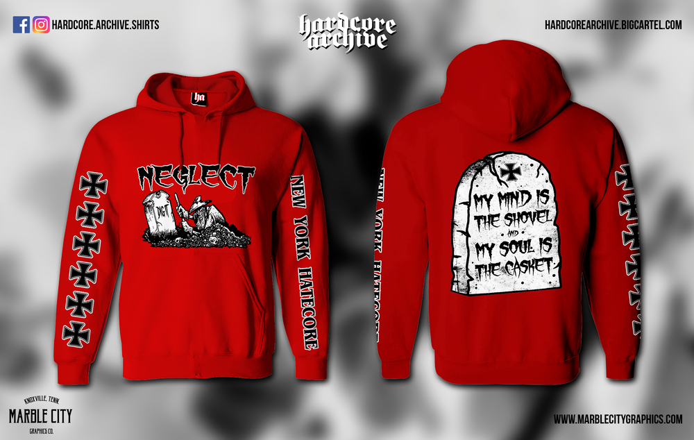 Image of Neglect Dig It hoodie - preorder