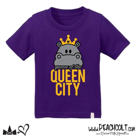 Image of Fiona Youth Tee, Purple
