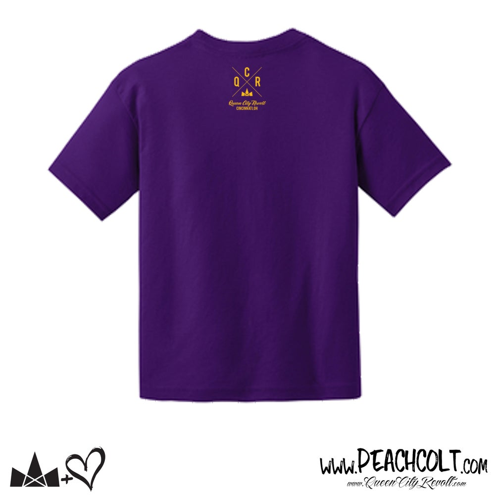 Image of Fiona Toddler Tee, Purple