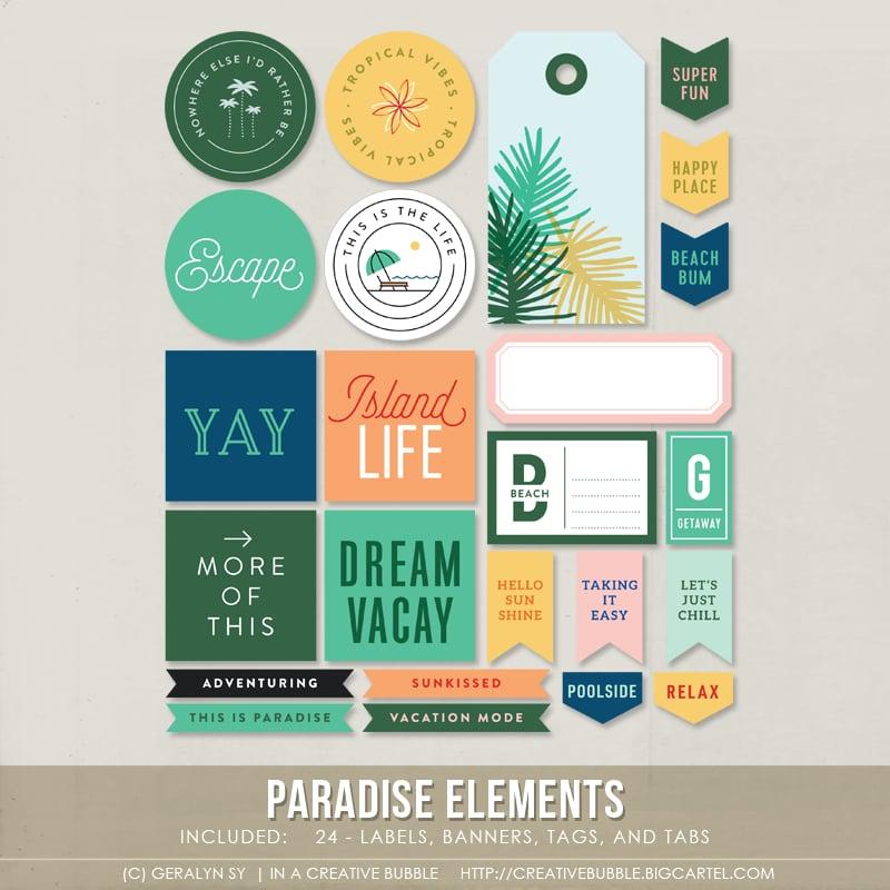 Image of Paradise Elements (Digital)