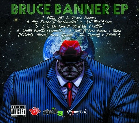 Image of STATIK G: BRUCE BANNER EP