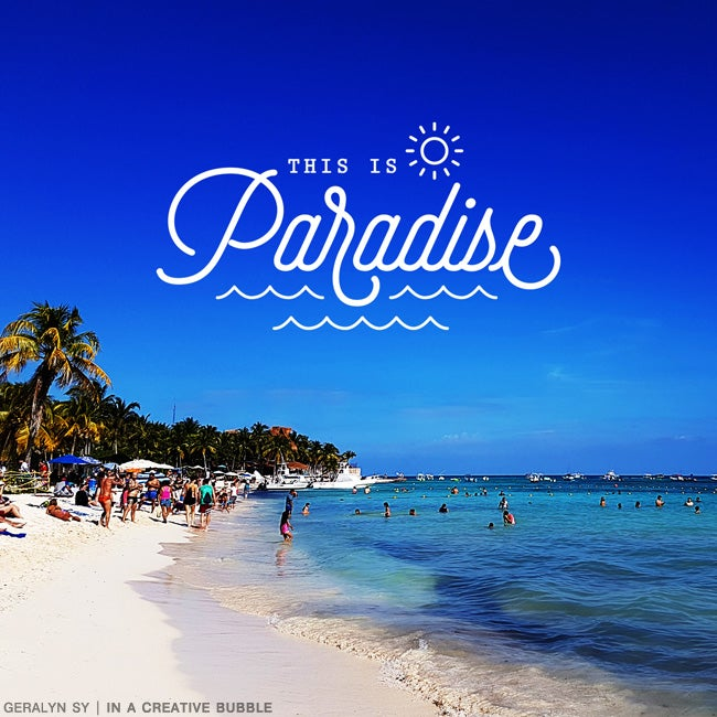 Image of Paradise Stamp Brushes (Digital)