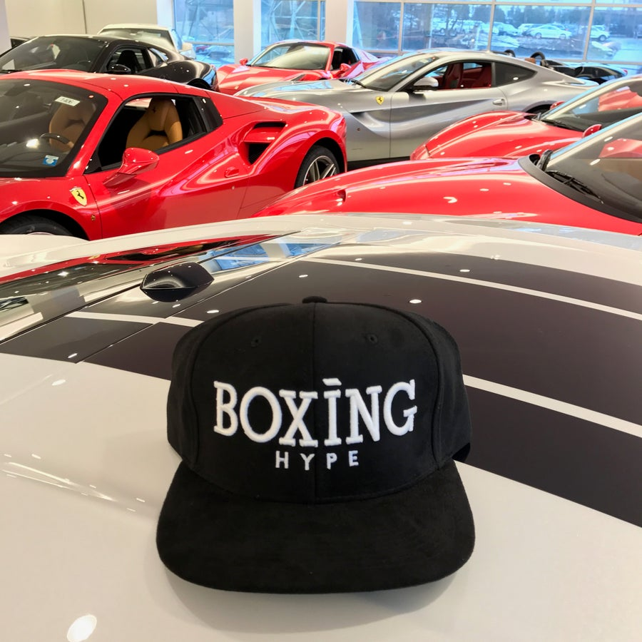 Image of BoxingHype Classic SUEDE Snapbacks