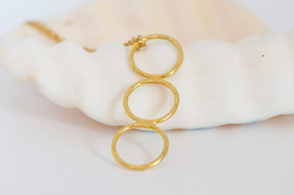 Image of Clementine gold-plated necklace
