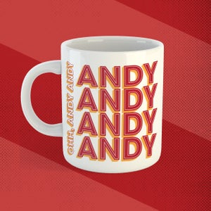 Image of Andy Robertson mug