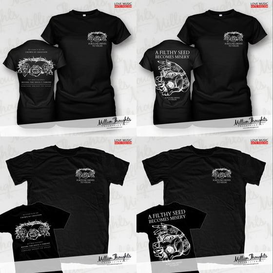 Image of Crown / Skull Shirts & Girlies