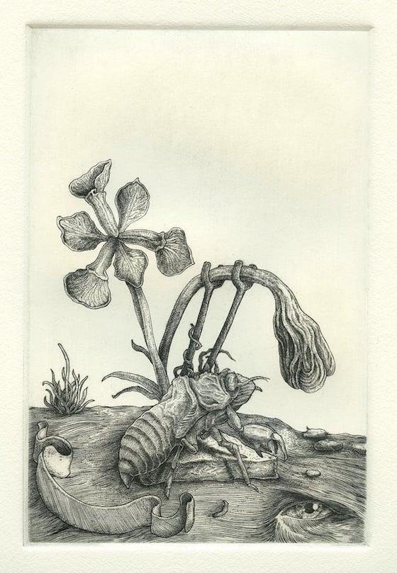 Image of Farewell (Metal Engraving)