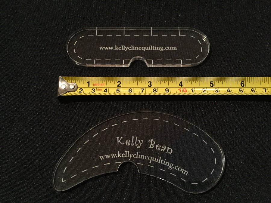 Image of Notch Rulers set of 2--for LONG ARM USE ONLY