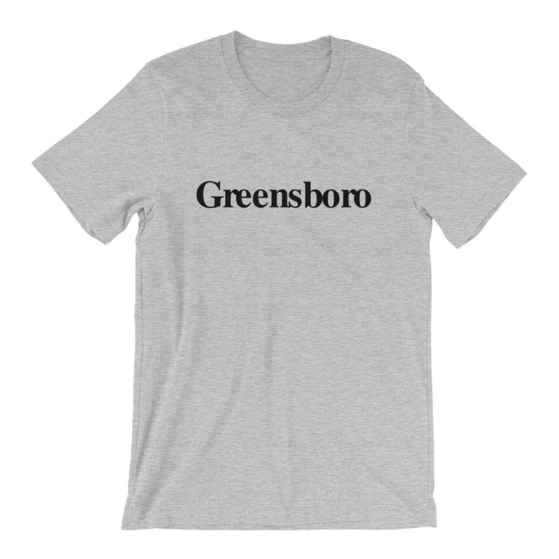 Image of Greensboro Tee - Heather Grey