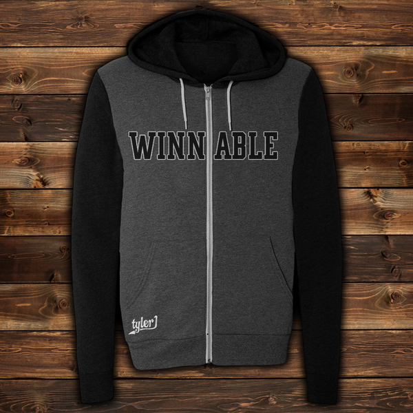 Image of Winnable Premium Zip-Up Hoodie