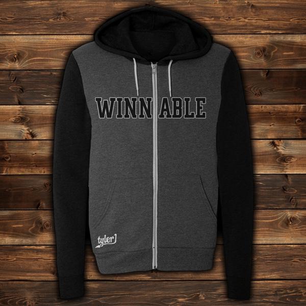 Image of Winnable Premium Zip-Up Hoodie