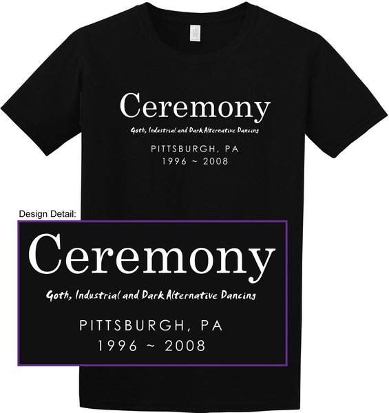 Image of Limited Edition Ceremony Unisex T-Shirt