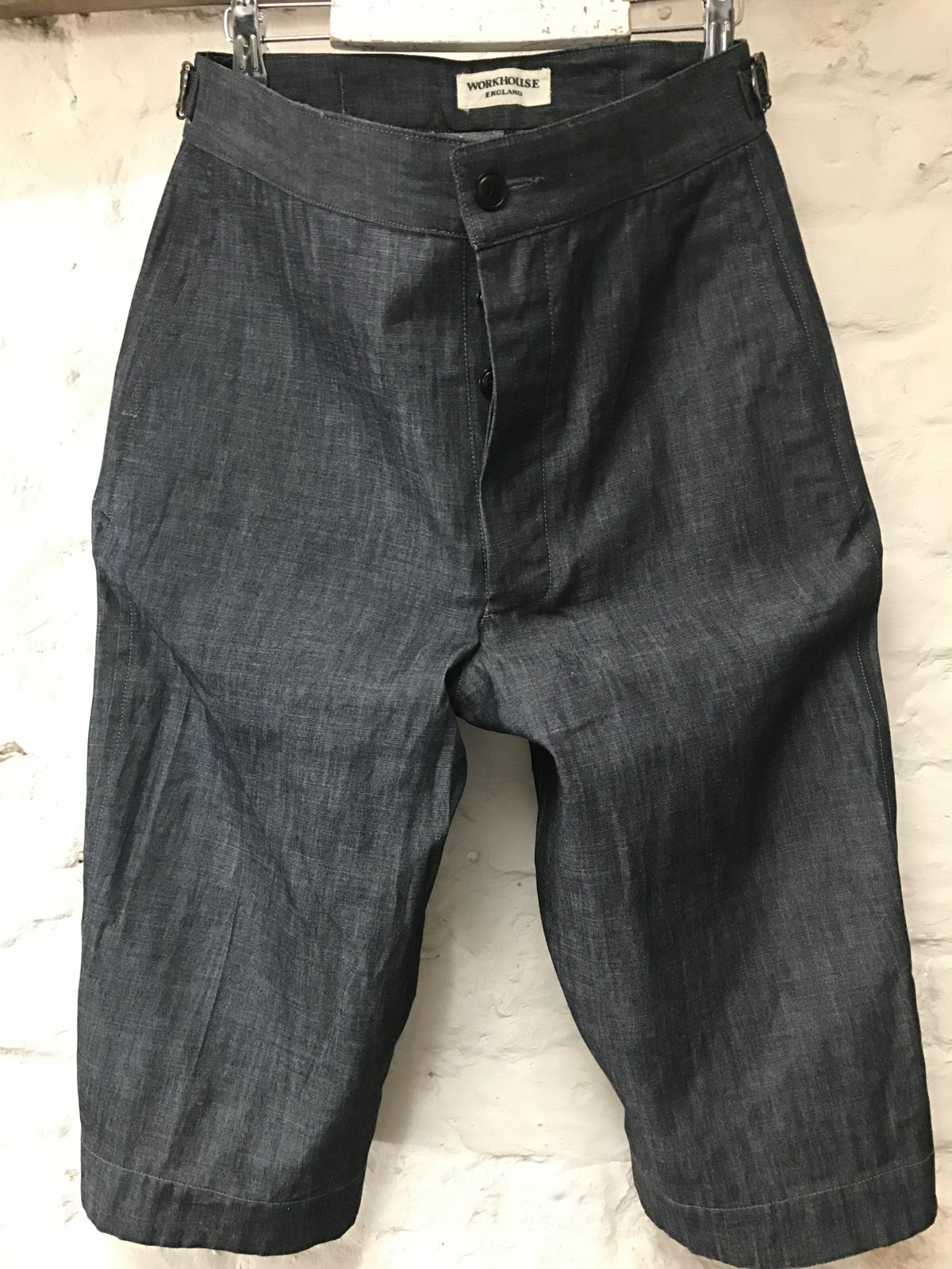 Image of TUAREG SHORTS in Grey denim