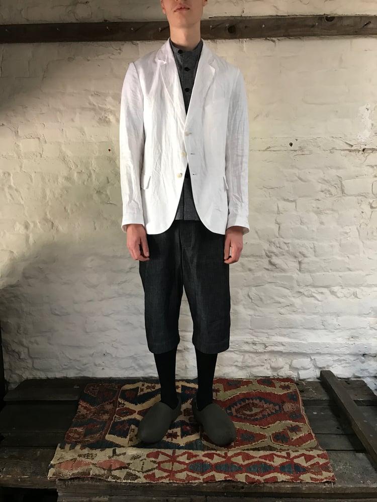 Image of TUAREG SHORTS in Grey denim £195.00