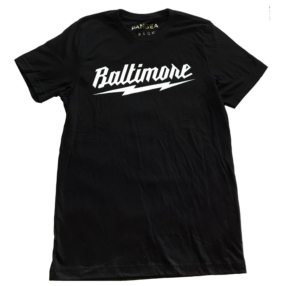 Image of Baltimore Lightning Bolt Shirt