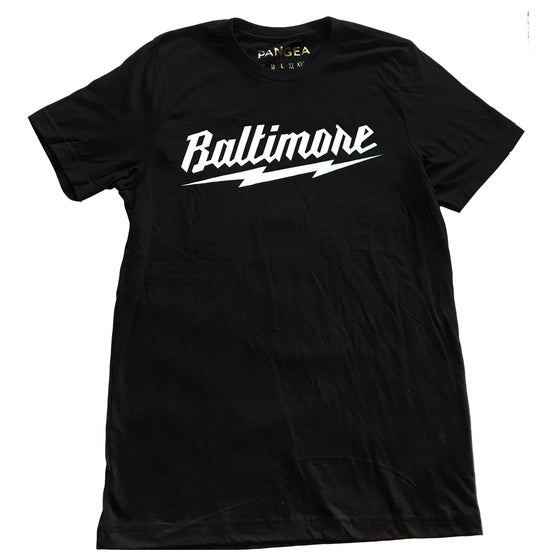 Image of Baltimore Lightning Bolt Shirt