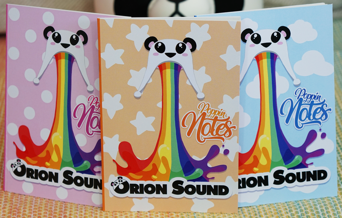 Image of The Rainbow Panda Notebooks