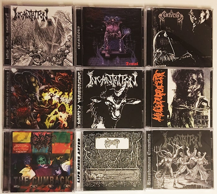 Image of Necroharmonic caseless CD release (CDs without Jewel Cases = Cheap Euro postage for mutiples )