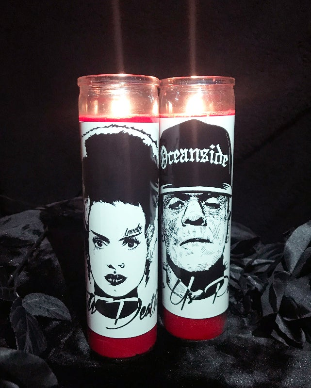 Image of Till Death Do Us Part Candle Set - Limited Edition