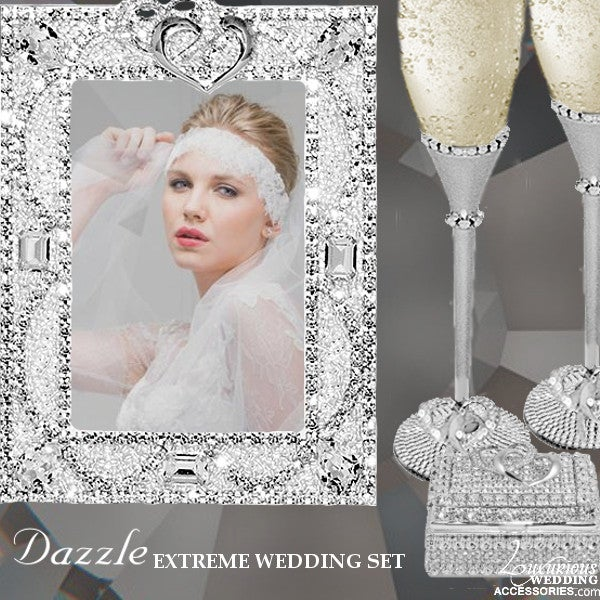 Image of Swarovski Crystal Dazzle Extreme Wedding Set