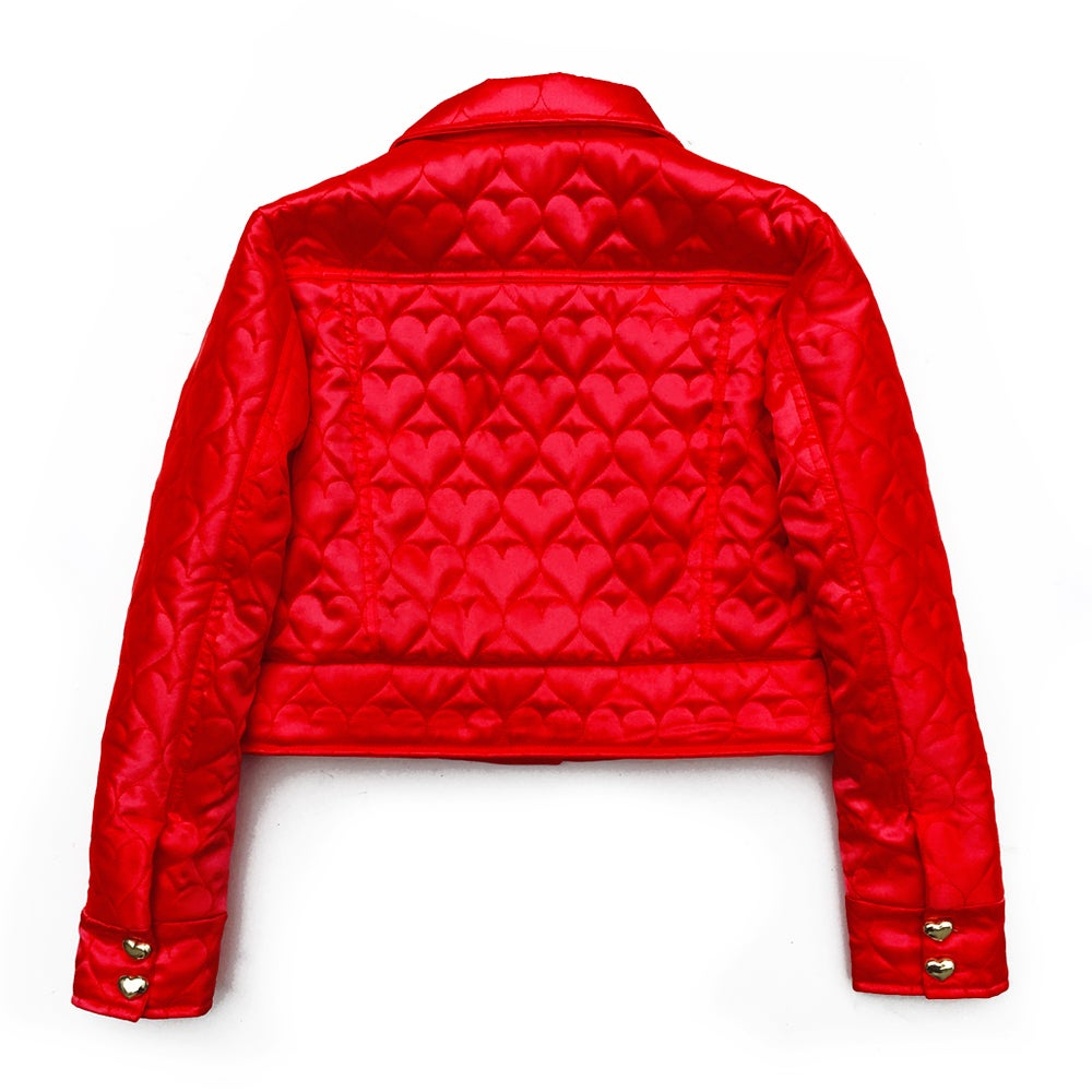 THE SWEETHEART JACKET (CHERRY RED)