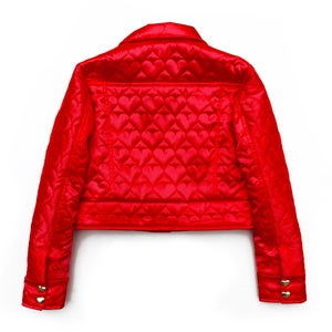Image of SWEETHEART 'DENIM' JACKET (CHERRY RED)