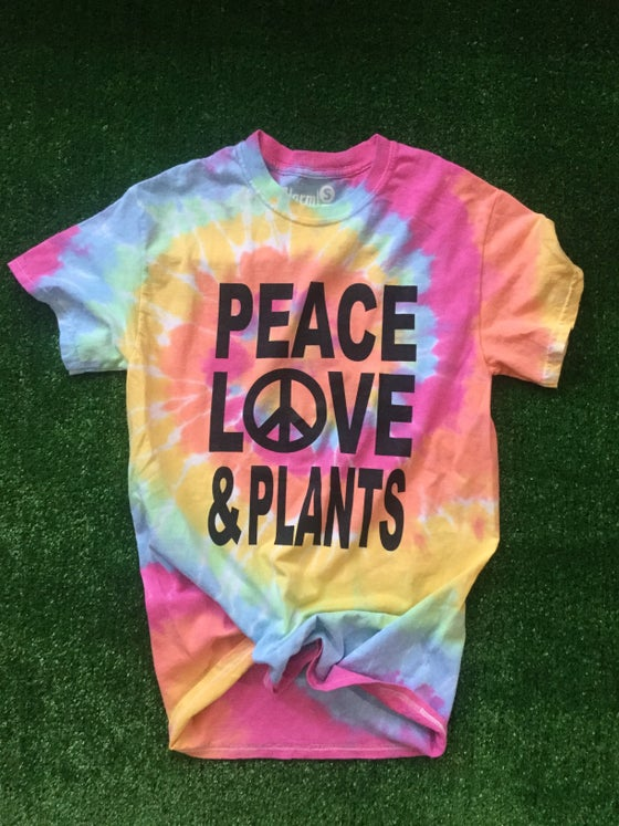 Image of PEACE LOVE &PLANTS
