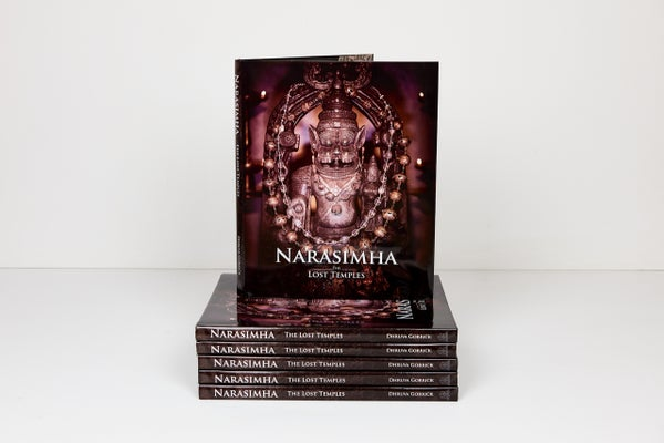 Image Of Narasimha The Lost Temples Coffee Table Book