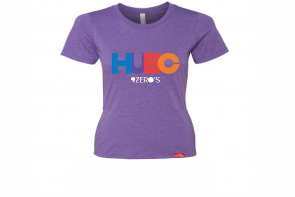 Image of HUBC 9Zero's Ladies Purple Tee