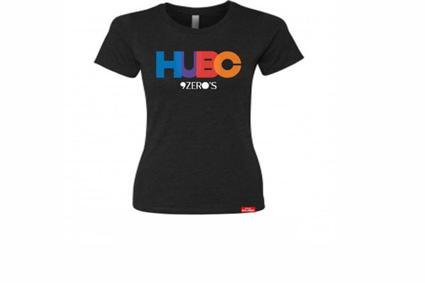 Image of HUBC 9Zero's Ladies Black Tee