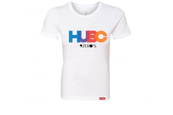 Image of HUBC 9Zero's Ladies White Tee