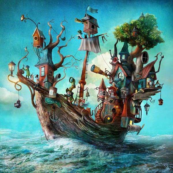 """Off we go!"" - Alexander Jansson Shop"