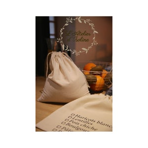 Image of Grand sacs à Vrac en coton Bio à l'unité ou par lot