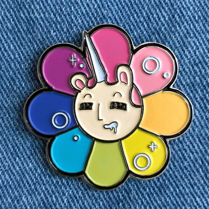 Image of Boonicorn BLOOM Enamel Pin
